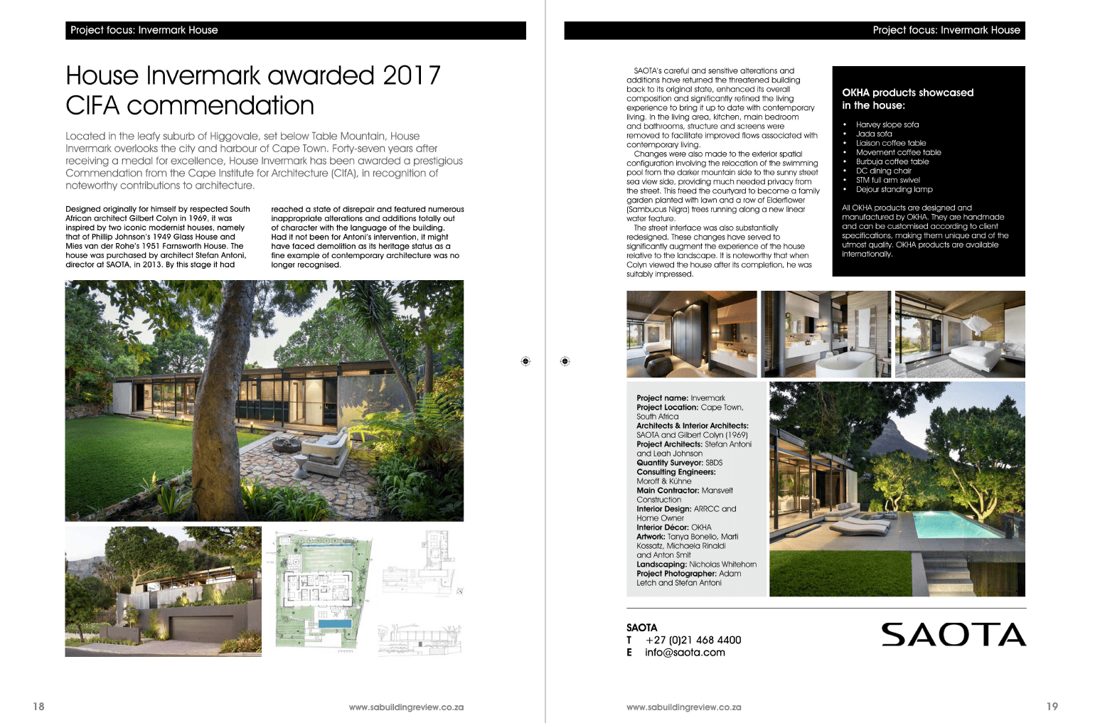 Invermark, Cape Town in SA Building Review Magazine - SAOTA ... on worms around homes, landscapes around homes, landscaping around homes, fire around homes, fences around homes, gardens around homes,