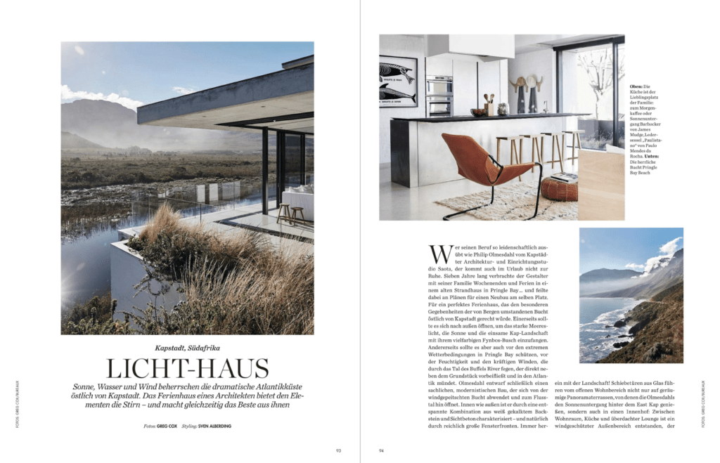 Attractive Restio River House. Pringle Bay In Elle Decoration Germany U2026