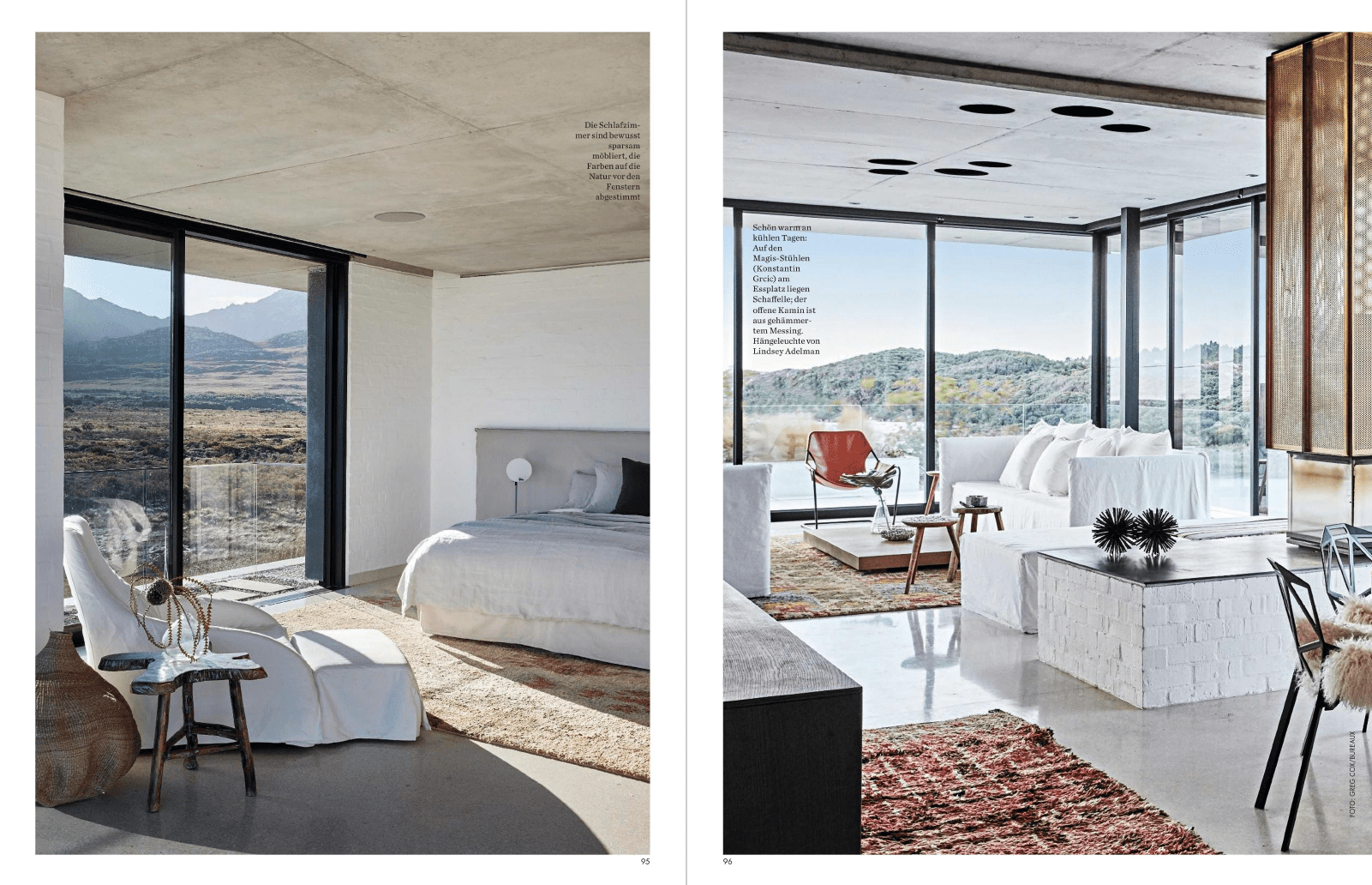Restio River House, Pringle Bay in Elle Decoration Germany - SAOTA ...