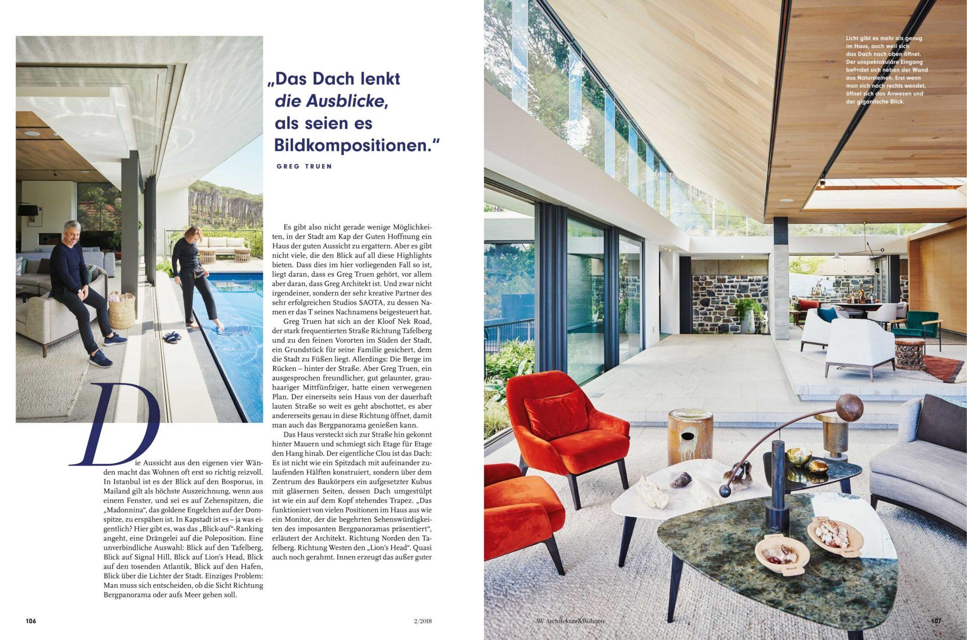 Best Kloof A Cape Town In Architektur Wohnen Magazine With Wohnen  Architektur