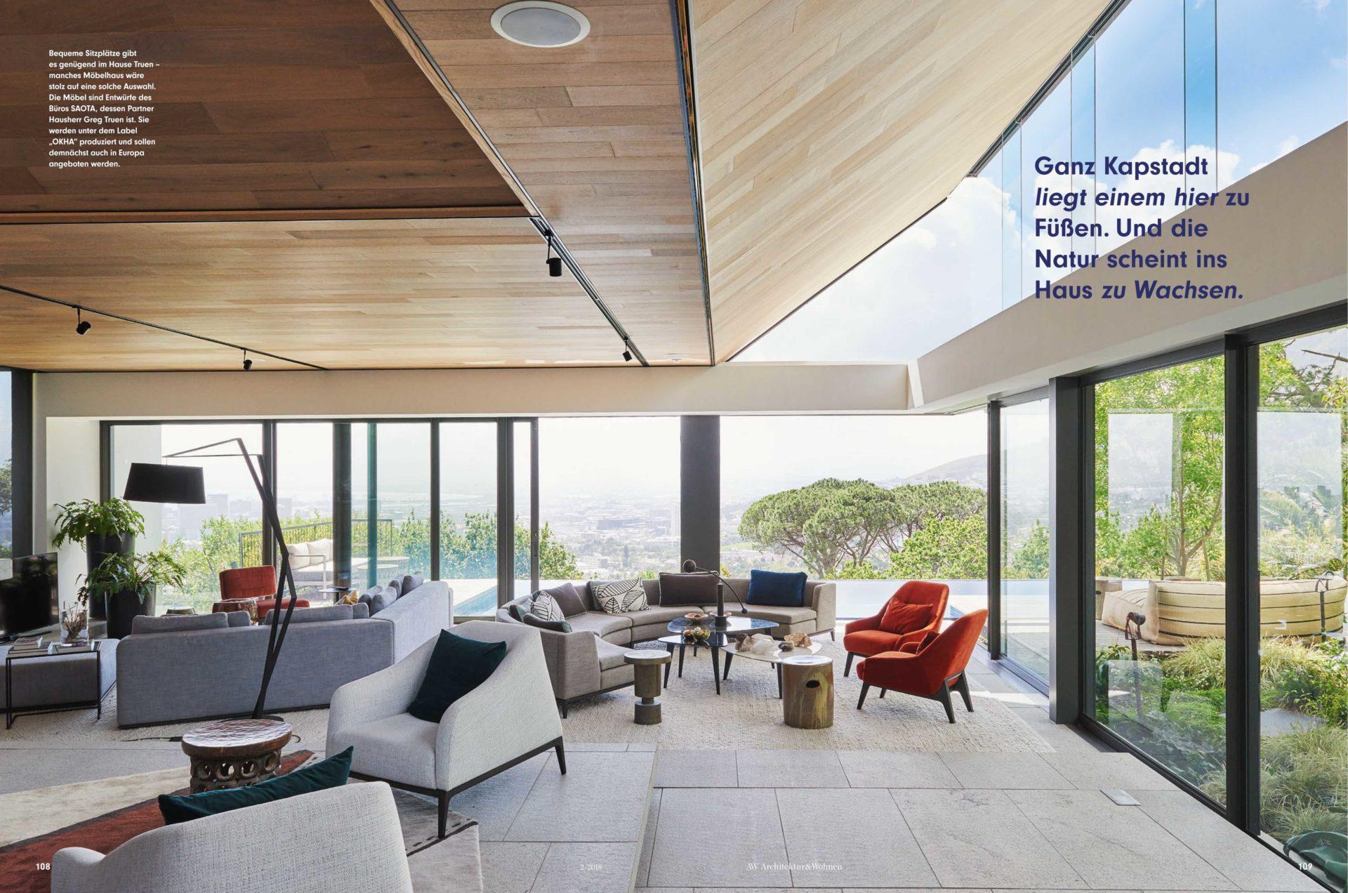 Kloof 119A, Cape Town in Architektur & Wohnen Magazine - SAOTA ...