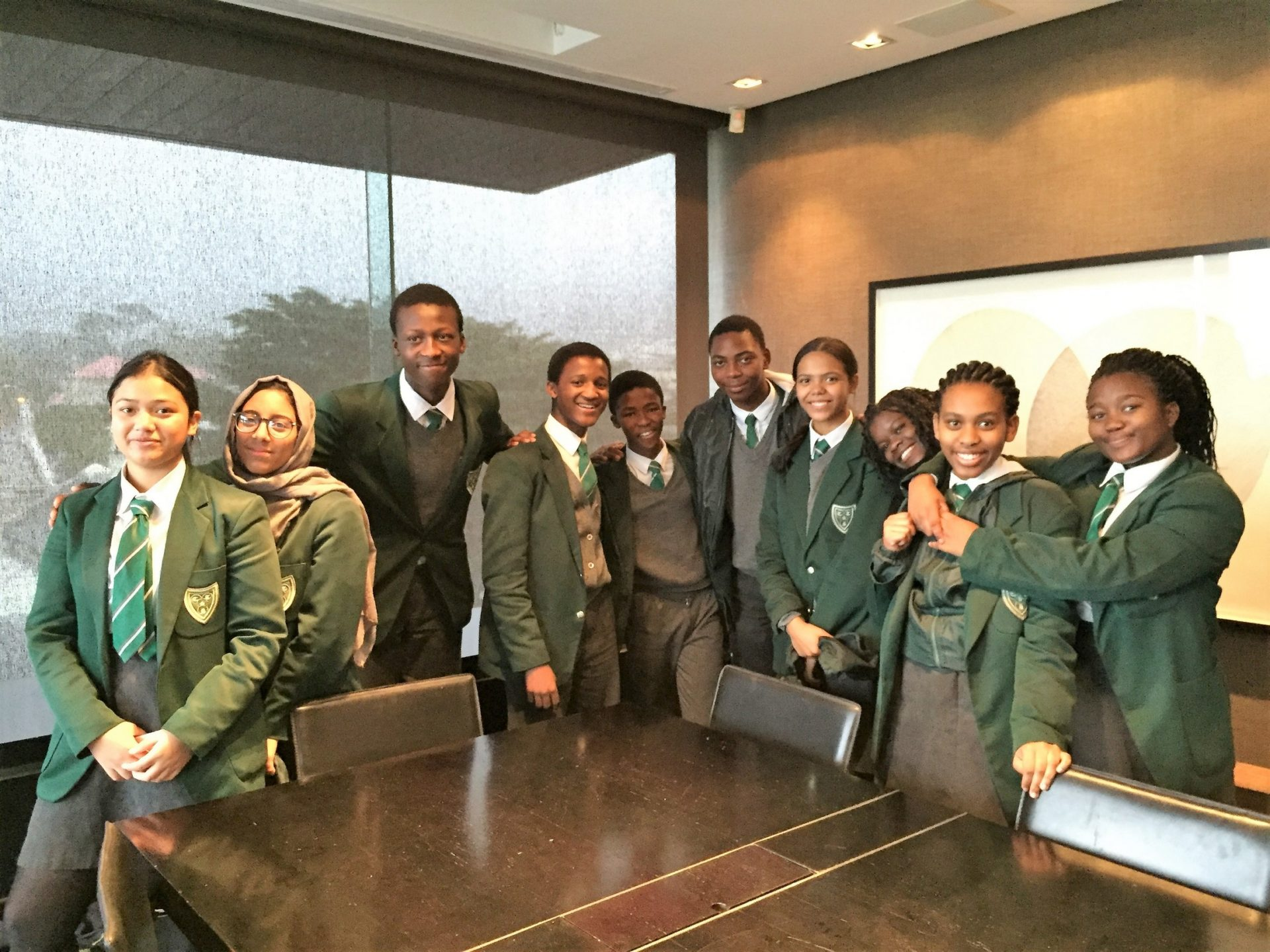 scholar open day with cape town high school saota architecture and