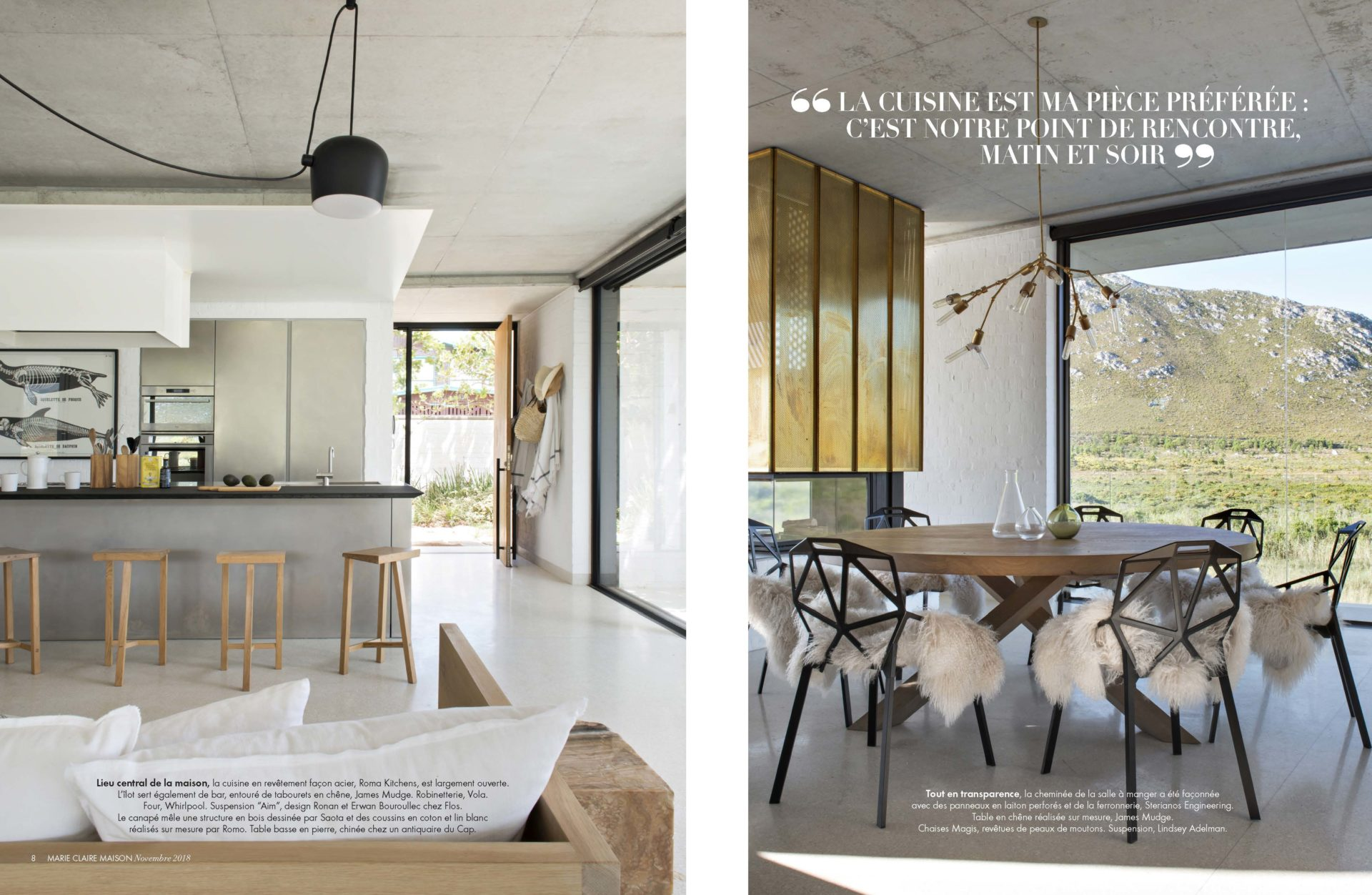 Restio River House Pringle Bay In Marie Claire Maison Saota