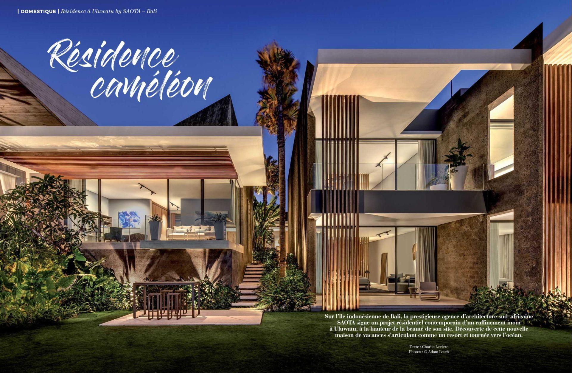 Uluwatu Bali In Artravel Saota Architecture And Design